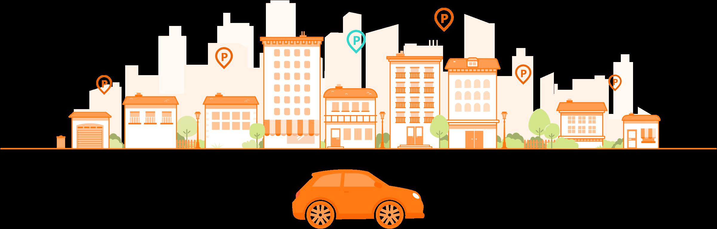 Réservations de places de parking en ligne | Parclick