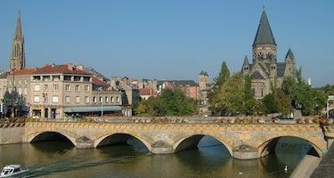 Encuentra dónde aparcar en Metz, Francia