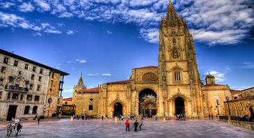 Encuentra dónde aparcar en Oviedo, España