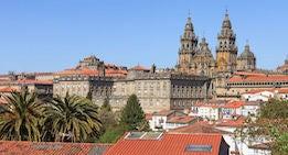 Encuentra dónde aparcar en Santiago de Compostela, España