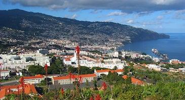 Encuentra dónde aparcar en Funchal, Portugal