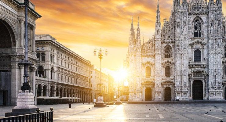 Encuentra dónde aparcar en Milán, Italia