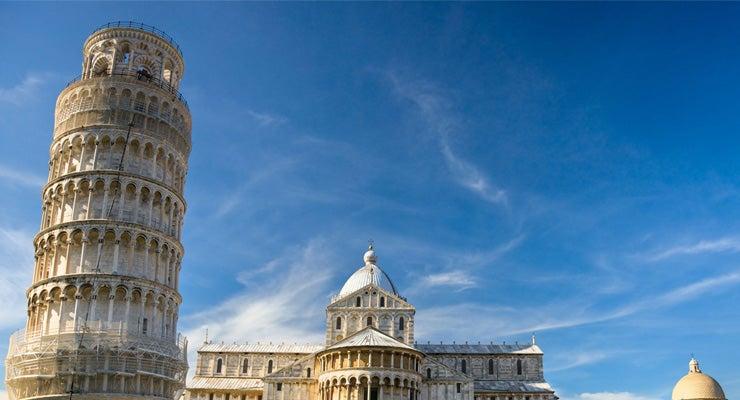 Encuentra dónde aparcar en Pisa, Italia