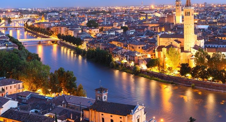 Encuentra dónde aparcar en Verona, Italia