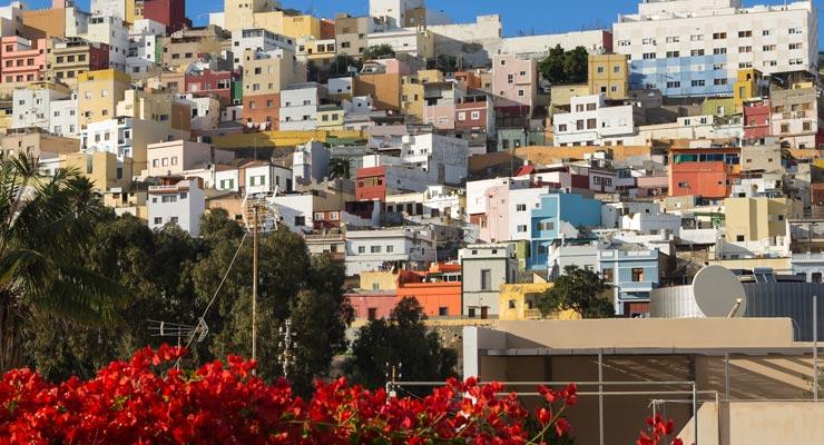 Find where to park in Las Palmas de Gran Canaria, Spain