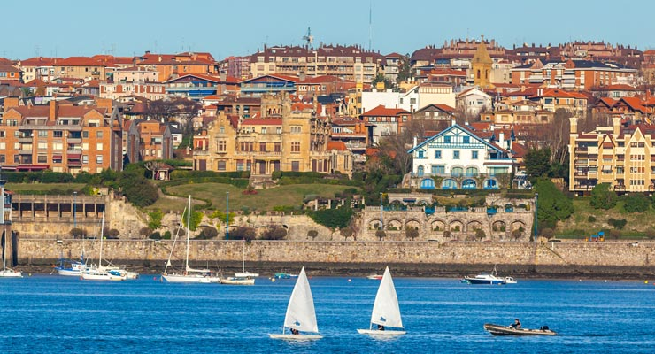 Find where to park in Getxo, Spain