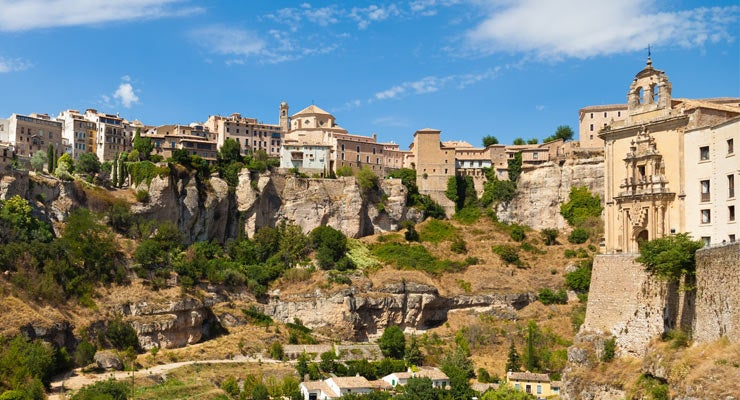 Find where to park in Cuenca, Spain