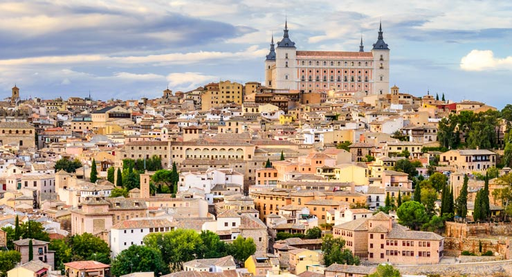 Find where to park in Toledo, Spain