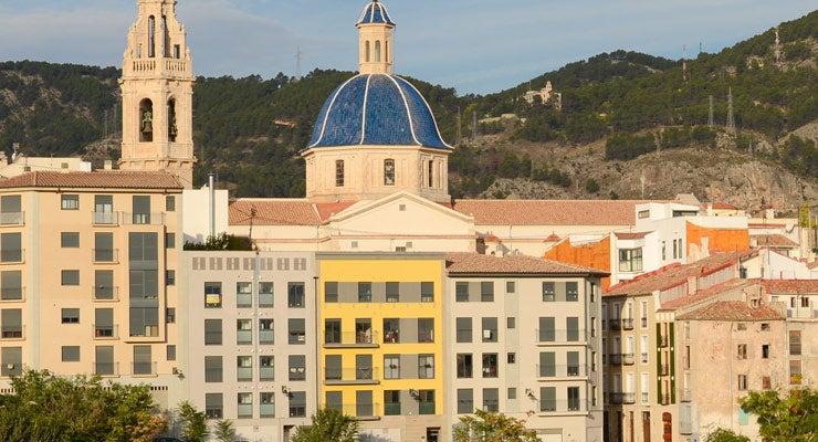 Trouvez un parking à Alcoy, Espagne