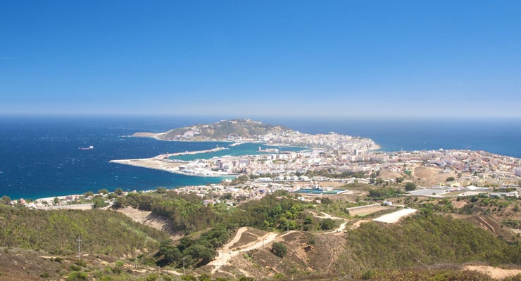 Find where to park in Ceuta, Spain