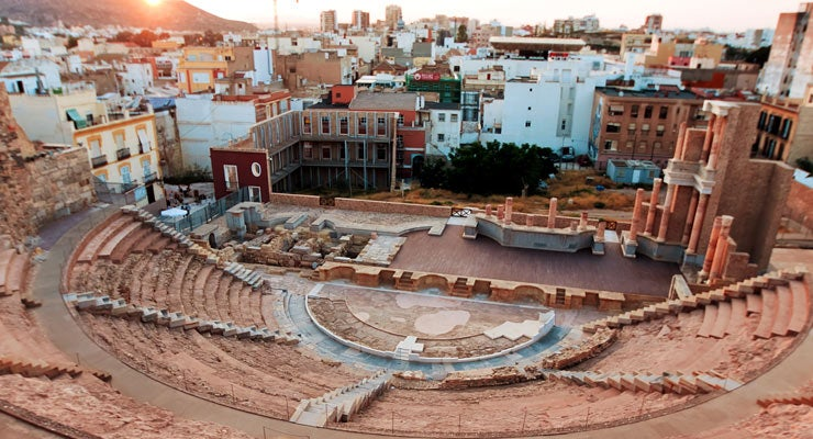 Find where to park in Cartagena, Spain