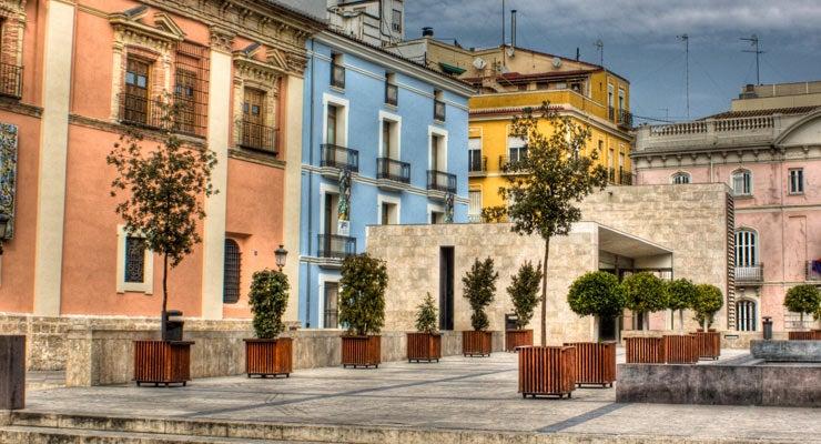 Trouvez un parking à Valence, Espagne