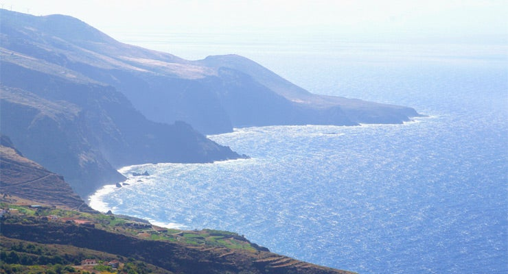 Find where to park in Island of La Palma, Spain