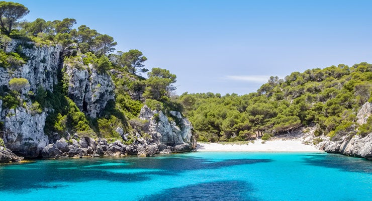 Find where to park in Island of Minorca, Spain
