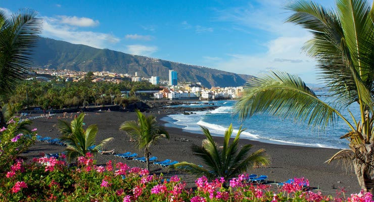 Find where to park in Island of Tenerife, Spain