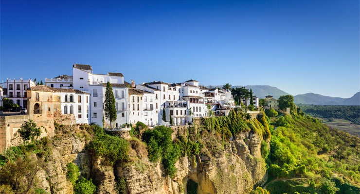 Find where to park in Ronda, Spain
