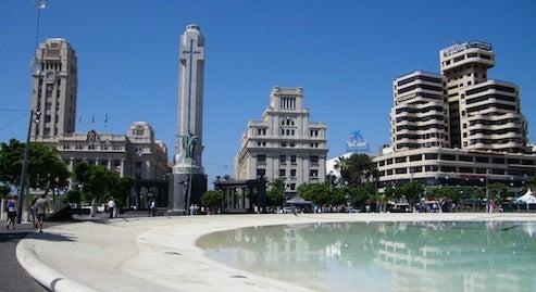 Finden Sie einen Platz zum Parken in Santa Cruz de Tenerife, Spanien