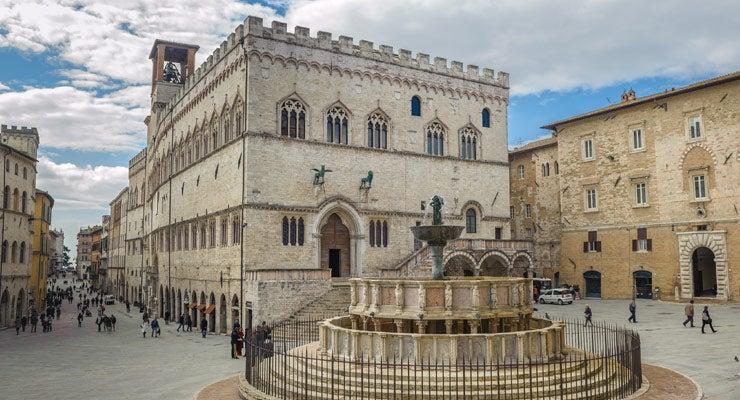 Encuentra dónde aparcar en Perugia, Italia