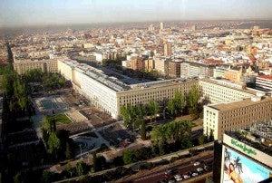 Nuevos Ministerios de Madrid