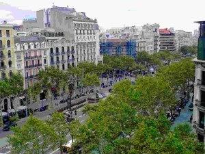 Passeig de Gràcia de barcelone