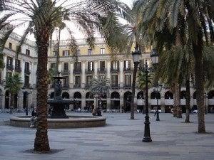 Plaça Reial de Barcelone