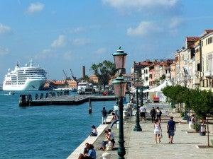 Cruise in Venice