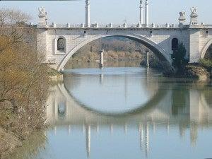 Ponte Flaminio su Corso di Francia