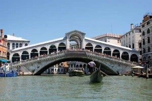Rialto Bridge in San Polo district