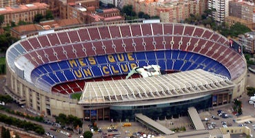 Parking cerca del Camp Nou in Parclick