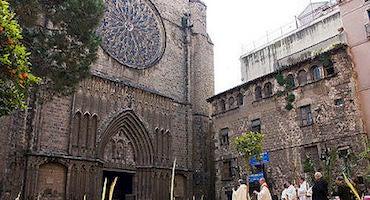 Parkings en la Basílica Santa María del Pi in Parclick