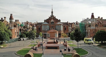 Parkings en el Hospital de Sant Pau in Parclick