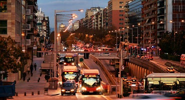 Car parks close to the Gran Vía in Barcelona in Parclick