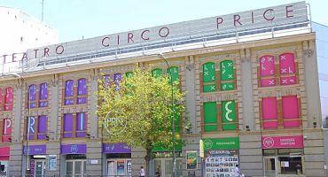 Parkings en el Teatro Circo Price en Madrid in Parclick