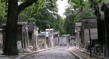 Car parks close to the Père Lachaise Cemetery in Parclick