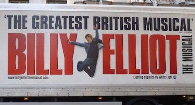 Parking para el Musical de Billy Elliot in Parclick