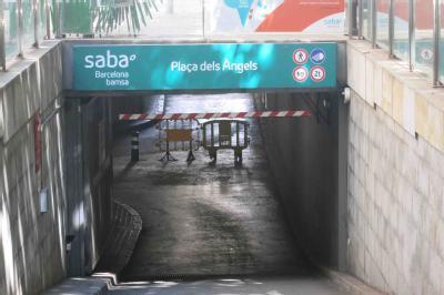 SABA BAMSA Plaça dels Àngels