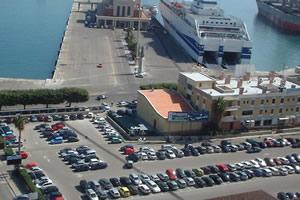 Molo Santa Lucia Porto Palermo - area autocaravan