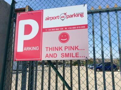 Airport Parking - Aeropuerto Alicante - descubierto
