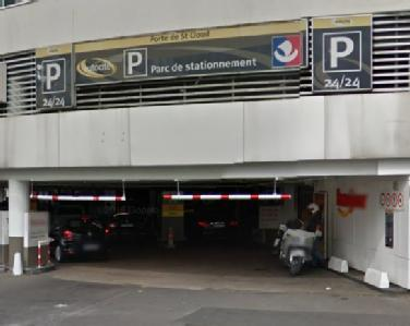 car park in 2 avenue de la porte de saint cloud in paris parclick. Black Bedroom Furniture Sets. Home Design Ideas