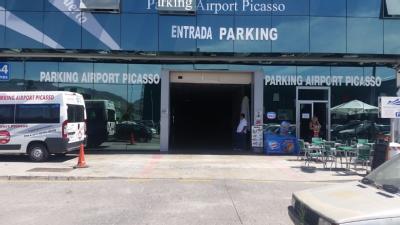 Airport Picasso - Aeropuerto de Málaga - descubierto