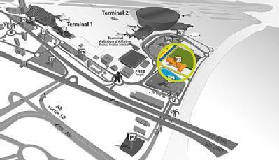 Aéroport de Nice Côte d'Azur Terminal 2 - P7