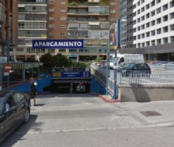 car park in paseo de la castellana 125 in madrid parclick