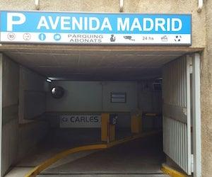 Avenida Madrid - Les Corts