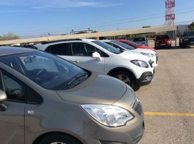 Airport Parking - Aeropuerto Alicante - cubierto