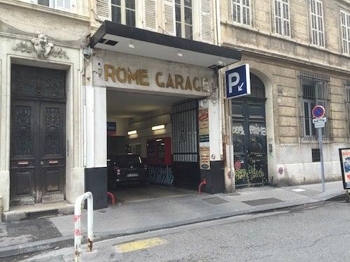 Parking parking rue sylvabelle 7 rome for E parking marseille