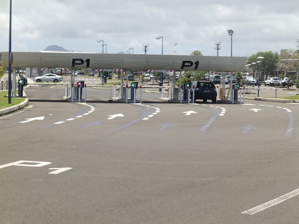 Aéroport Martinique Aimé Césaire - P1 (courte durée)