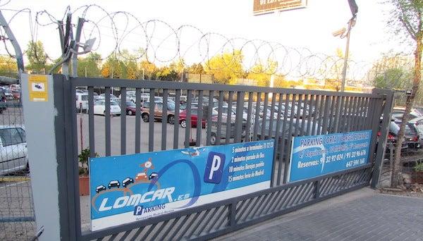 LOMCAR - Aeropuerto Madrid-Barajas - descubierto
