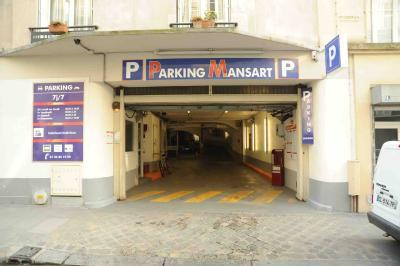 Parking parking rue mansart 7 blanche pigalle for Garage mercedes paris 17 rue cardinet