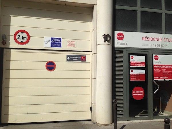 Adagio City Aparthotel Paris Buttes Chaumont