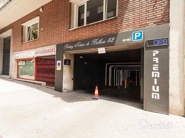Car park in Calle de Núñez de Balboa, 52 in Madrid | Parclick